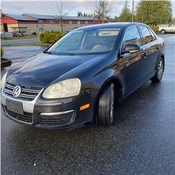 2006 VW JETTA TDI, 4DR, L4 SOHC 8V TURBO DIESEL,TURBOCHARGER REPLACED W/PAPERWORK KEY FOB AND CARFAX