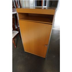 MAPLE 1 DOOR CABINET
