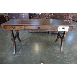 INDUSTRIAL 3 DRAWER DESK