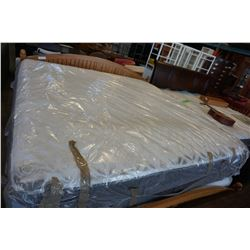 STEARNS AND FOSTER KINGSIZE TIGHT TOP MATTRESS, FLOOR MODEL