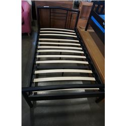 BLACK IRON SINGLE SIZE IKEA BED FRAME