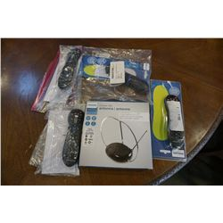 LARGE LOT OF NEW OVERSTOCK PHILIPS CLASSIC HD DIGITAL ANTENNAS, 1080P, 4K READY WITH PHILIPS 3, 4 AN