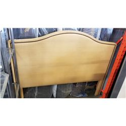 STUDDED UPHOLSTED QUEENSIZE HEAD BOARD