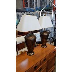 2 UNIQUE TEARDROP LAMPS
