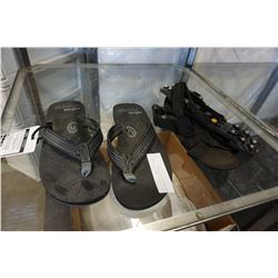NEW COBIAN DESIGNER FLIP FLOPS AND STRAP ON ICE CLEATS