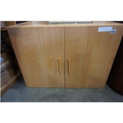 MAPLE 2 DOOR CUPBOARD