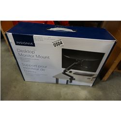 NEW OVERSTOCK INSIGNIA DESKTOP MONITOR MOUNT