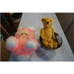 TOHO BUSSAN HEARTY DOOL STRAWBERRY VINTAGE STUFFIE AND PAUL REVERE REPRO ONEIDA BOWL AND BEAR
