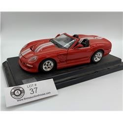 Collectible Diecast Shelby Series 1 1998 Car on base