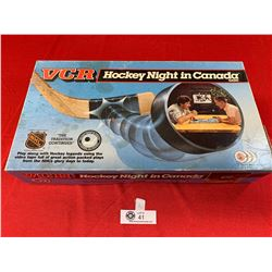 Vintage VCR Hockey Night In Canada Game