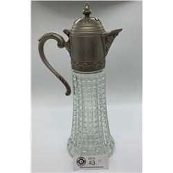Glass  Nice Decorative Glass decanter.