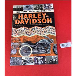 The Time Chart History of Harley Davidson Book