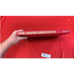 "Vintage Hard Cover Art Book "" The Impressionists"""