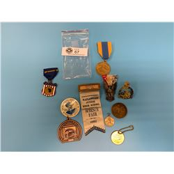 Lot of Vintage Medals, Awards and Badges