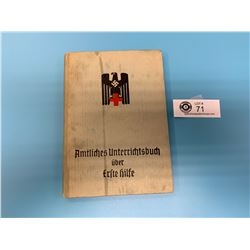 Vintage 1942 German Nazi  First Aid Field Book