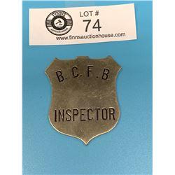 Vintage BC Forest Service Inspector Badge