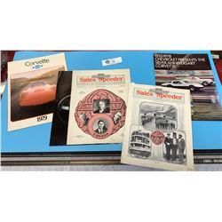 Chevrolet Sales Speeder Magazines