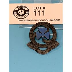 Vintage Girl Guides Sterling Silver Commisioner's Pin