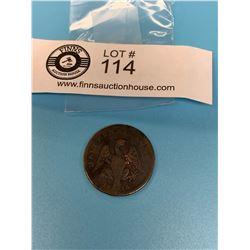 Canada 1814 1/2 Penny Token