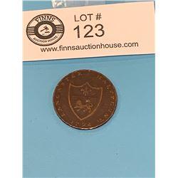 1794 Lancaster Half Penny