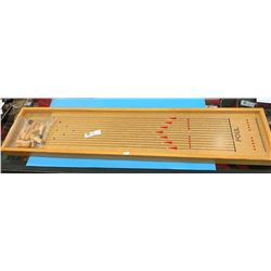 Vintage Table Top Bowling Game
