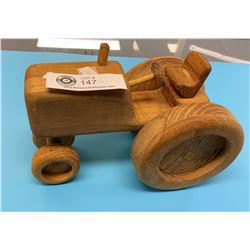 Large Wooden Custom Made Tractor