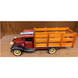 Large Wooden Custom Made Truck. Very Nice
