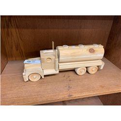 Large Wooden Custom Made Tanker Truck