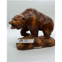 Ceramic Decorative Bear Figurine From Okanagan Game Farm