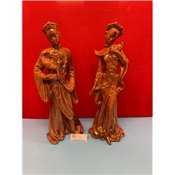 Lot of 2 Chinese. Decorative Ceramic Figures