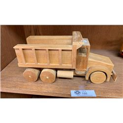 Large Wooden Custom Made Truck