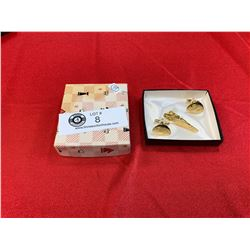 Vintage Men's Cufflink Set in Original Box. Mint Condition