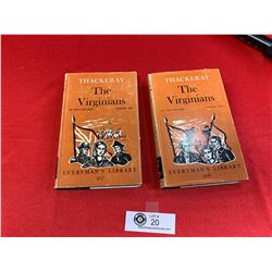 The Virginians 2 Volumes 1965 with Dust Jackets