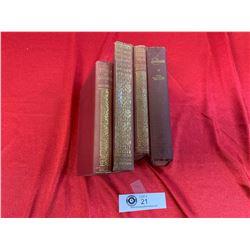 4 old Vintage Books Including Mary Shelley Frankenstein