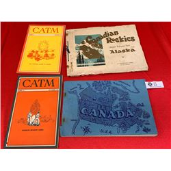 Lot of 4 Books on Canada