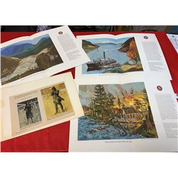 4 Prints 1960's Group of 7 Emily Carr Etc.
