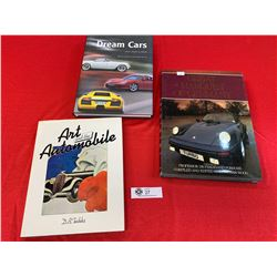 A Group of 3 Hard Cover Books on Automotives