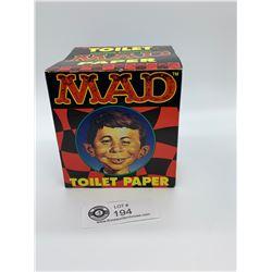 Mad Magazine Alfred E Newman Toilet Paper. In Original Box