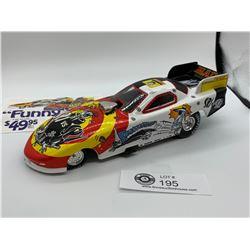 Mad Magazine Spy vs Spy Diecast Racing Funny Car With Card