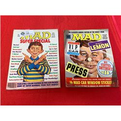 Lot of 2 Special Edition Mad Magazines
