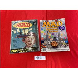 Lot of 2 Mad Magazines