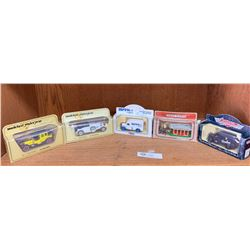 Lot of 5 Diecast Cars Still in Original Packages