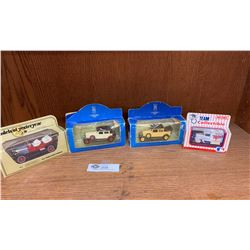Lot of 4 Diecast Cars Still in Original Packages