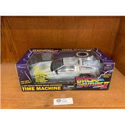 1:18 Scale Back to the Future DeLorean Time Machine. Still in Original Box