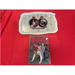 Queen's Jubilee Tray and an Uncle Arthur's Bedtime Stories Hard Cover Book