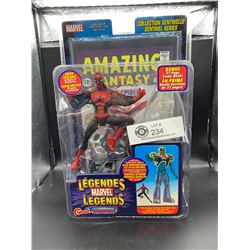 Legends Marvel Amazing Fantasy First Appearance. Spiderman Plus Action Figure Still in Package