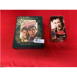 The Africian Queen Limited Commemorative Edition Plus John Wayne VHS Box Lot