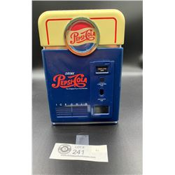 A Pepsi Cola Piggy Bank Looks Like an Old Pop Machine