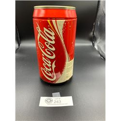 Large Coca Cola Pop Can Piggy Bank