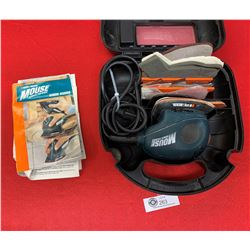 Black and Decker Mouse Sander In Case with Manuals